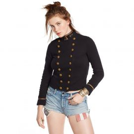 Cropped Officers Jacket at Ralph Lauren