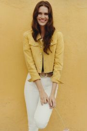 Cropped Suede Trucker Jacket at Anthropologie