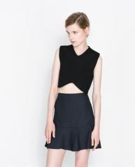 Cropped Top at Zara