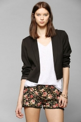 Cropped blazer at Urban Outfitters