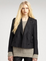 Cropped jacket like Emilys at Saks Fifth Avenue