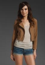 Cropped jacket like Marlys at Revolve