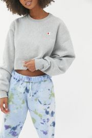 Cropped sweatshirt at Urban Outfitters