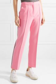 Cropped woven slim-leg pants at Net A Porter
