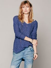 Cross My Heart Pullover at Free People