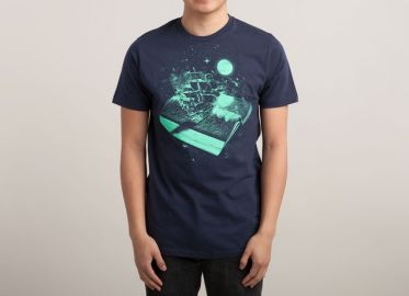 Crossing the Rough Sea of Knowledge Tee at Threadless