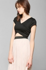 Crossover Top by Sparkle and Fade at Urban Outfitters