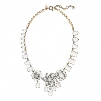 Crystal Collage Necklace at J. Crew