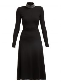 Crystal-Embellished Ribbed Midi Dress by Christopher Kane at Matches