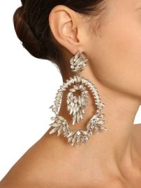 Crystal Pendant Earrings by Raisa & Vanessa at Luisaviaroma