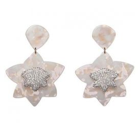 Crystal Star Drop Earrings by Lele Sadoughi at Lele Sadoughi