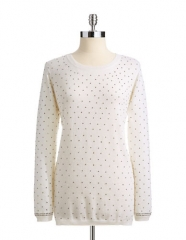 Crystal Studded top at Lord & Taylor
