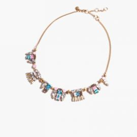 Crystal bead necklace at J. Crew