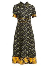 Crystal-embellished crepe dress at Matches