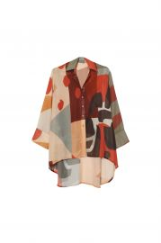 Cubist Lucid Blouse  at Fe Noel