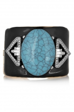 Cuff by Kenneth Jay Lane at The Outnet