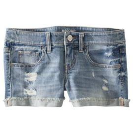 Cuffed denim shorts at Target