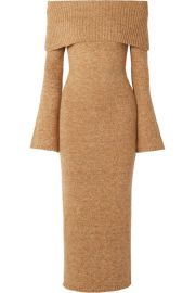 Cult Gaia - Mariel off-the-shoulder knitted maxi dress at Net A Porter