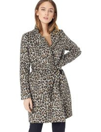 Cupcakes and Cashmere Fabrice Leopard Coat at Amazon