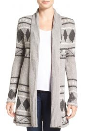 Cupcakes and Cashmere Eden Jacquard Knit Cardigan at Nordstrom