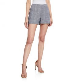 Cupcakes and Cashmere Vinson Plaid Shorts at Neiman Marcus
