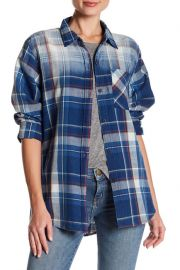 Current Elliott Plaid Boyfriend Shirt at Nordstrom Rack