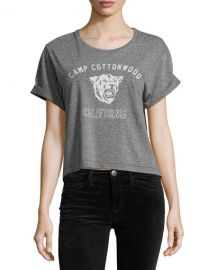 Current Elliott The Camp Cottonwood Sailor Tee  Heather Gray at Neiman Marcus