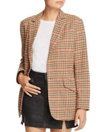 Current/Elliott The Date Night Plaid Blazer at Bloomingdales