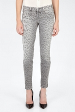 Current Elliot leopard jeans at My Wardrobe at My Wardrobe