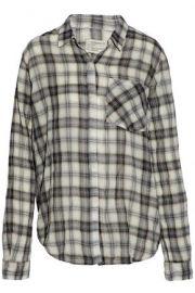 Current Elliott Plaid Shirt at The Outnet
