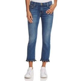 Current Elliott Pom Pom Jeans at Bloomingdales