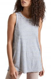Current Elliott The Muscle Stripe Tee at Nordstrom
