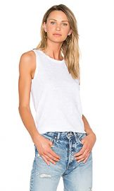 Current Elliott The Muscle Tee in Sugar from Revolve com at Revolve