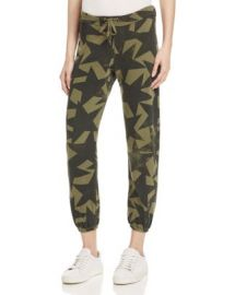 Current Elliott The Varsity Star Print Sweatpants at Bloomingdales