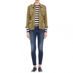 CurrentElliott Lone Soldier Army Jacket at Barneys