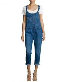 CurrentElliott The Carpenter Denim Overalls Salton Sea at Neiman Marcus