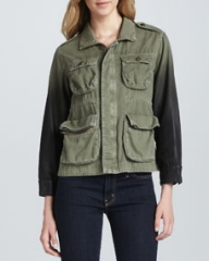 CurrentElliott The Lone Soldier Utility Jacket at Neiman Marcus