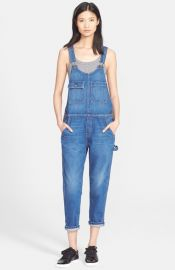 CurrentElliott and39The Carpenterand39 Denim Overalls at Nordstrom