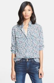 CurrentElliott and39The Perfect Shirtand39 Floral Print Shirt at Nordstrom