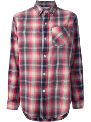 Currentelliott Studded Plaid Shirt - Penelope at Farfetch