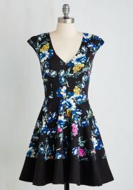 Curtsy for Yourself Dress in Garden at ModCloth