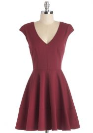 Curtsy for Yourself Dress in Red at ModCloth