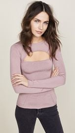 Cushnie Et Ochs Devera Long Sleeve Knit Top at Shopbop