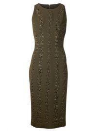 Cushnie Et Ochs Lace-up Detailing Dress - at Farfetch