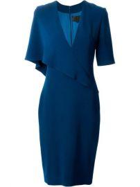 Cushnie Et Ochs V-neck Dress - Anita Hass at Farfetch