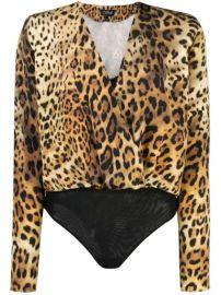 Cushnie Leopard Print Body Top - Farfetch at Farfetch