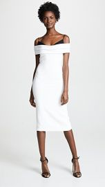 Cushnie Off Shoulder Pencil Dress at Shopbop