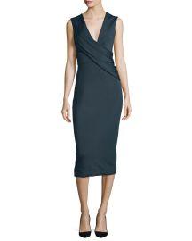 Cushnie et Ochs Ibiza Jasmine Sleeveless Draped Dress at Neiman Marcus