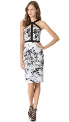 Cushnie et Ochs Print Sleeveless Dress at Shopbop