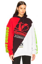 Cut-Up Hoodie by Vetements at Forward